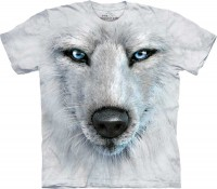 Футболка The Mountain White Wolf Face