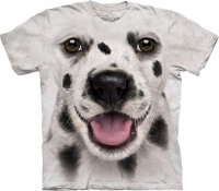 Детская футболка The Mountain Big Face Dalmatian Puppy