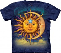 Футболка The Mountain SUN MOON