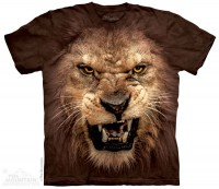 Футболка The Mountain Big Face Roaring Lion
