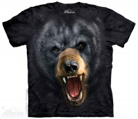 Футболка The Mountain Aggressive Nature: Black Bear