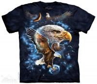 Футболка The Mountain Cosmic Eagle