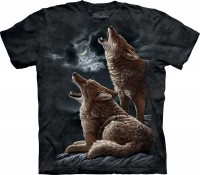 Футболка The Mountain HOWLING COYOTES