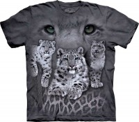 Футболка The Mountain SNOW LEOPARDS