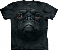 Футболка The Mountain Black Pug Face