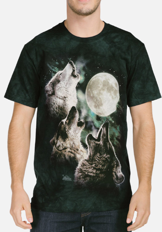 Футболка The Mountain Three Wolf Moon