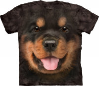 Детская футболка The Mountain Big Face Rottweiler Puppy