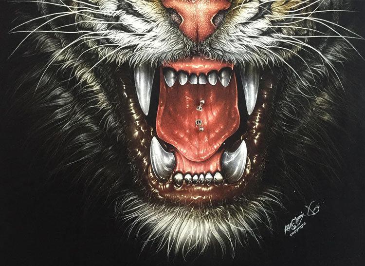 решение картинки кровавый тигр науки