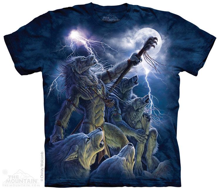 Футболка The Mountain Calling the Storm (Вызывающий бурю)- в интернет магазине Красивые футболки