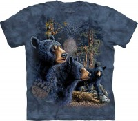 Футболка The Mountain Find 13 Black Bear