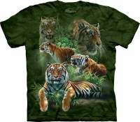 Футболка The Mountain JUNGLE TIGERS