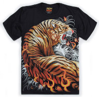 T-shirt Rock Chang Two Tigers