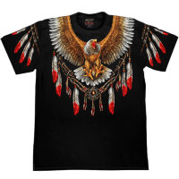 Camiseta Rock Chang Eagle Totem