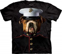T-shirt The Mountain Bulldog Marine