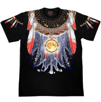 Camiseta Rock Chang Native American Totem