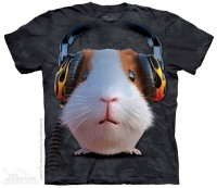 Футболка The Mountain DJ Guinea Pig