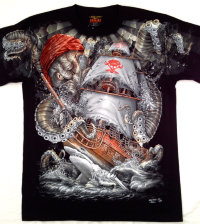 T-shirt Rock Chang Octopus