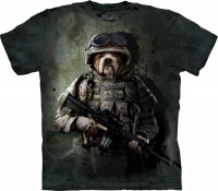 T-shirt The Mountain MARINE SAM