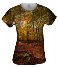 Camiseta de mujer Yizzam Redforest Bed