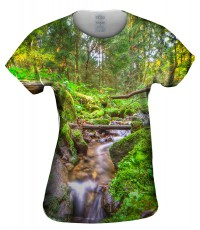 Camiseta de mujer Yizzam Fall Forest