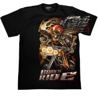 T-shirt Rock Chang Skull Biker