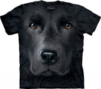 T-shirt The Mountain BLACK LAB FACE