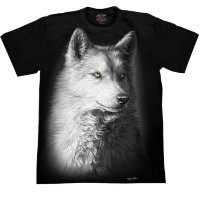 T-shirt Rock Chang White Wolf