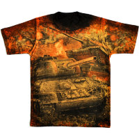 T-Shirt Combat Russia Warrior