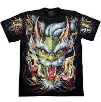 T-Shirt Rock Chang Chinese Dragon