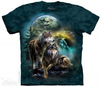 Das Mountain Wolf Lookout T-Shirt