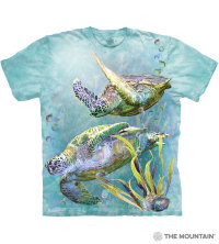 T-shirt The Mountain Sea Turtle Swim
