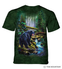 T-shirt The Mountain Black Bear Forest