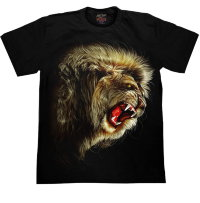 Camiseta Rock Chang Howling Lion