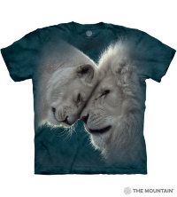 Футболка The Mountain White Lions Love