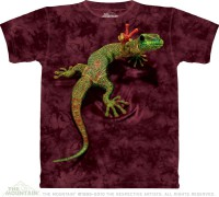 T-shirt The Mountain Peace Out Gecko