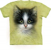 Camiseta The Mountain GREEN EYED KITTEN