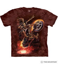 T-shirt The Mountain Hell Rider