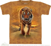 T-shirt The Mountain Rising Sun Tiger