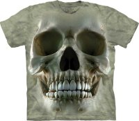 T-shirt enfant The Mountain Big Face Skull