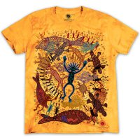 Camiseta de Cassowary Rock Art