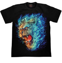 Camiseta Rock Chang Fire Lion