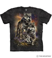 Camiseta The Mountain WOLF FAMILY SUNRISE