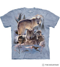 Camiseta The Mountain WOLF FAMILY MOUNTAIN