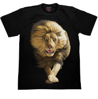 Camiseta Rock Chang Running Lion