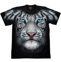 T-Shirt Rock Chang White Tiger Look