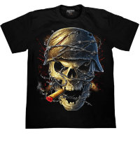T-shirt Rock Chang Casque Skull
