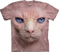 Футболка The Mountain Hairless Pussycat Face