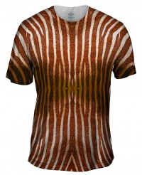 Футболка Yizzam Brown Zebra Stripes