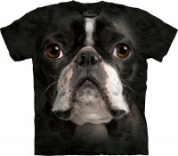 T-shirt The Mountain BOSTON TERRIER