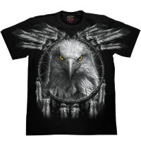 Camiseta Rock Chang Native American Eagle